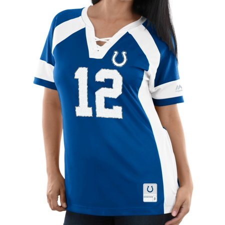 Andrew Luck Indianapolis Colts Women's Majestic NFL