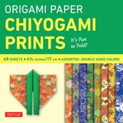 "Origami Paper - Chiyogami Prints - 6 3/4"" - 48 Sheets : Tuttle Origami Paper: High-Quality Origami Sheets Printed with 8 Different Patterns: Instructions for 6 Projects Included"