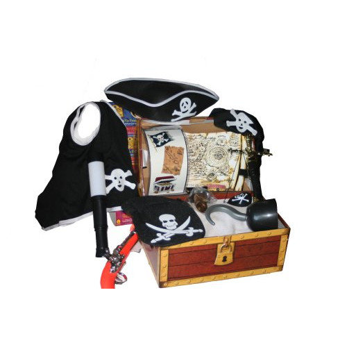 Rubies Pirates of the Seven Seas Dress-Up Treasure Chest