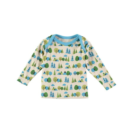 Coyote & Co. Newborn Baby Boy Tree Print Top