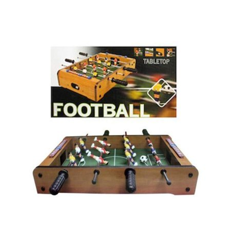 Tabletop Foosball Game, Perfect for the home, office, or Pub, this tabletop Football game features a mini table with 4 handles, 2 Soccer balls, 12.., By Kole Imports](Cheap Football Tables)