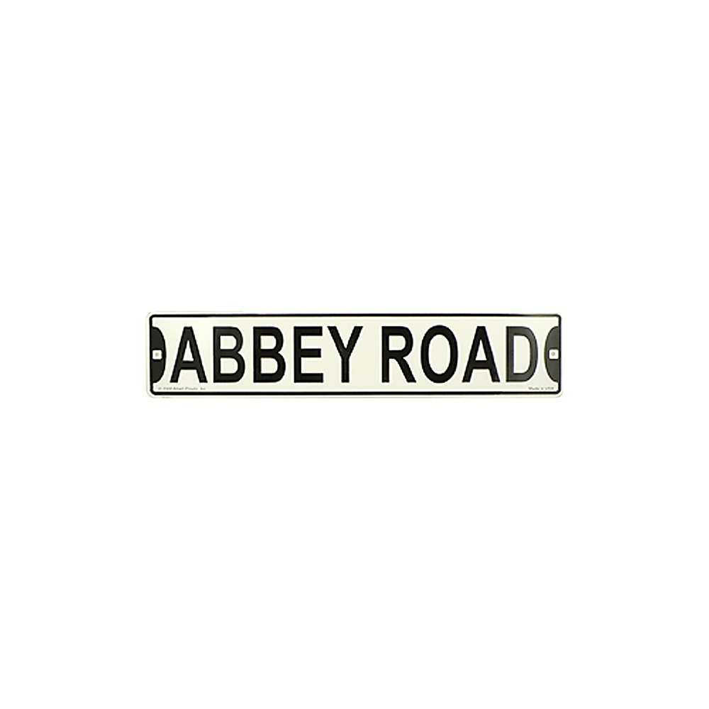 Image of AIM Abbey Road Street Sign