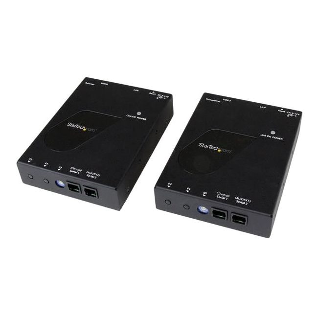 StarTech HDMI Video Over IP Gigabit LAN Ethernet Extender Kit