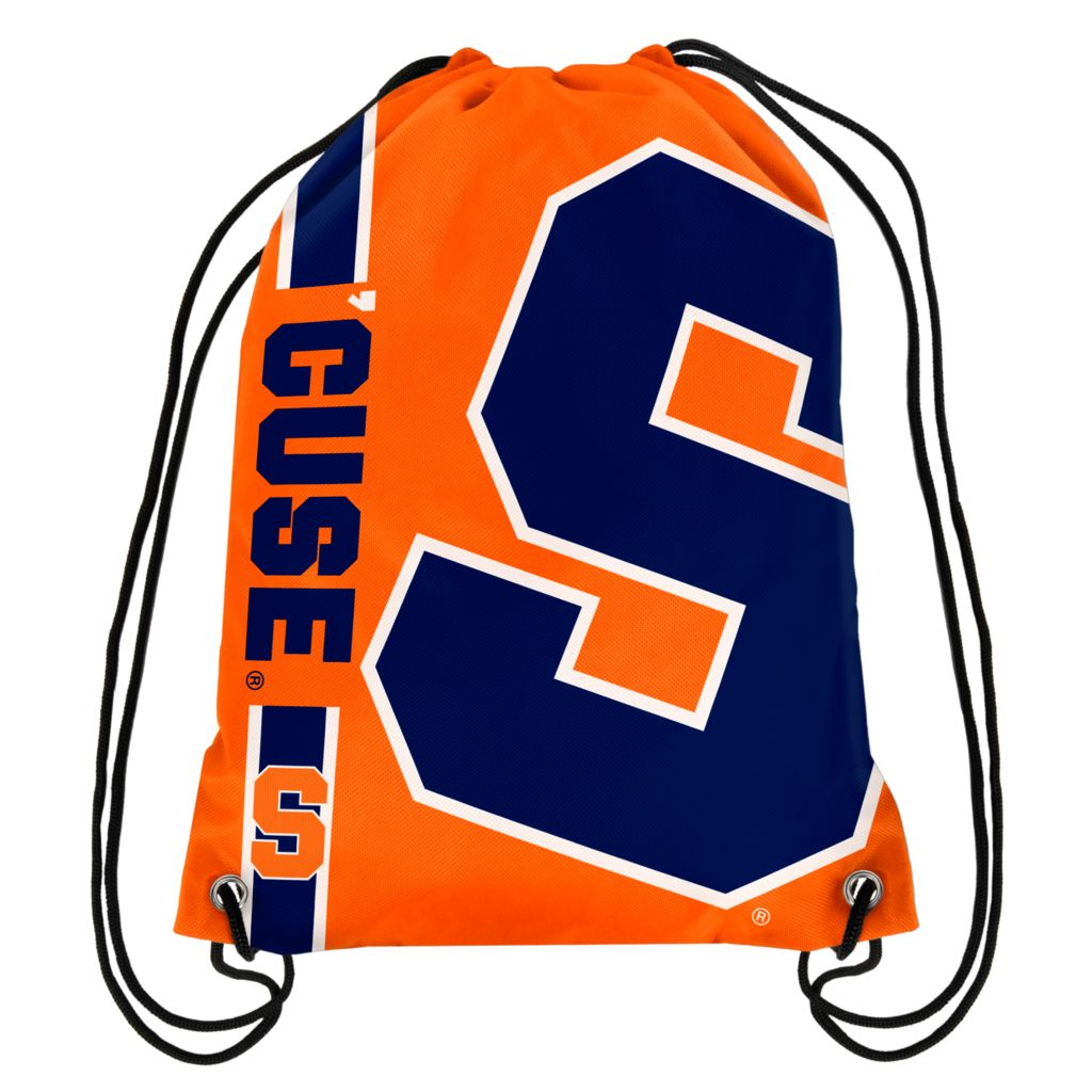 Syracuse Orangemen Official NCAA One Size Backpack Backsack by Forever Collectibles