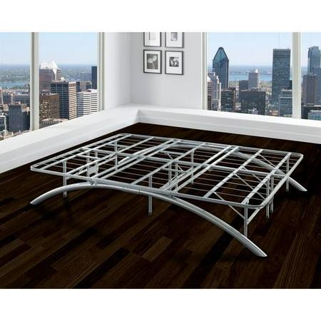 Sleep Sync Arch Flex Double Silver 14 Inch Platform Bed Frame