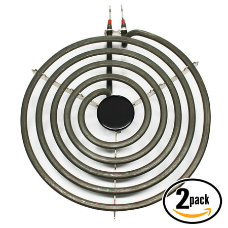 2-Pack Compatible Tappan TEF317BWD 8 inch 5 Turns Surface Burner Element - Compatible Tappan 316442301 Heating Element for Range, Stove & -
