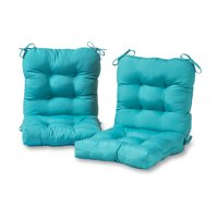 Greendale Home Fashions Solid Outdoor Chair Cushion, Set of 2