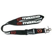 "Superheroes Mazda Zoom Logo 20"" Black Lanyard"