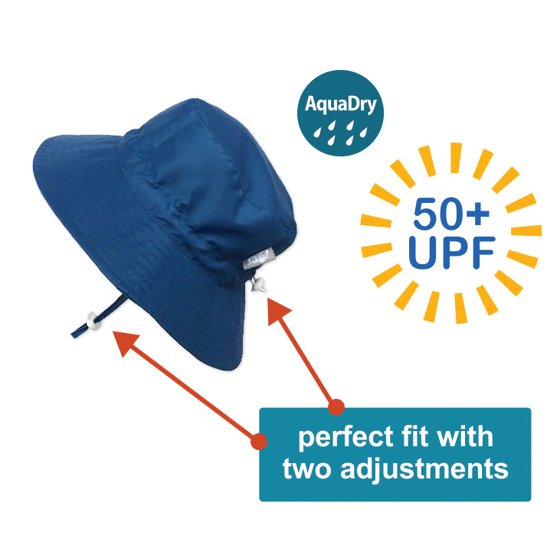 8d41fa8405c Twinklebelle - Toddler 50+ UPF Sun Protection Bucket Hat With Chin ...
