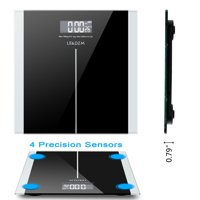 Zimtown 397lb Digital Body Weight Bathroom Scale with Step-On Technology