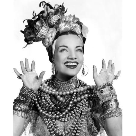 Carmen Miranda Ca 1940S Photo Print (Carmen Miranda Costume)