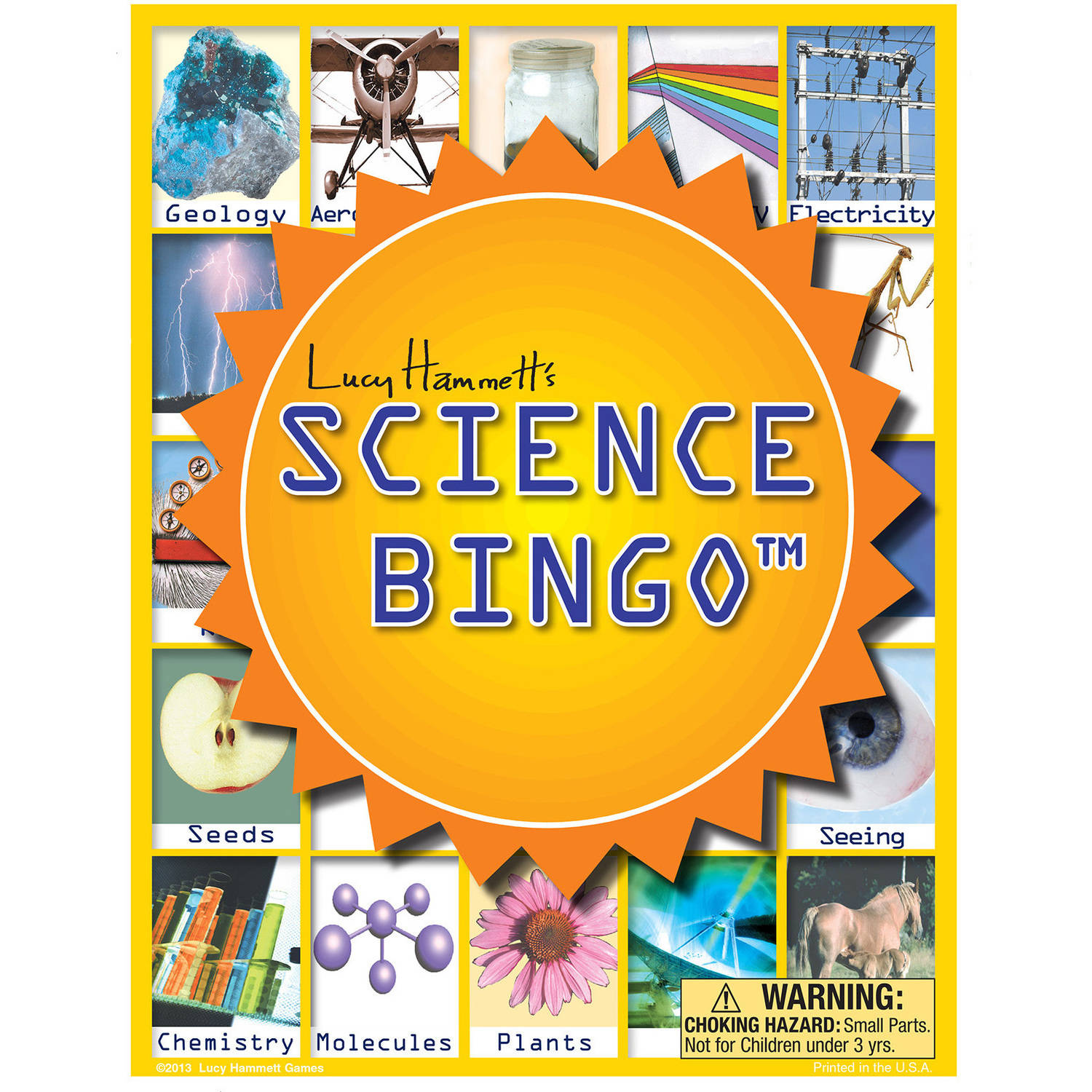 Lucy Hammett Science Bingo