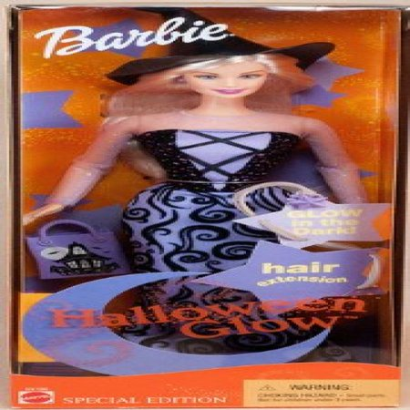 Halloween Glow Barbie Doll Special Edition - Halloween Makeup Dolls