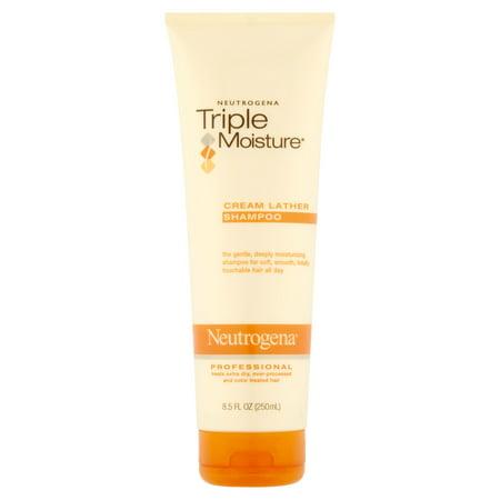 Neutrogena Triple Crème hydratante Lather Shampooing, 8,5 Fl. oz