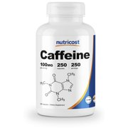 Best Caffeine Pills - Nutricost Caffeine Pills 100mg Per Serving, 250 Capsules Review