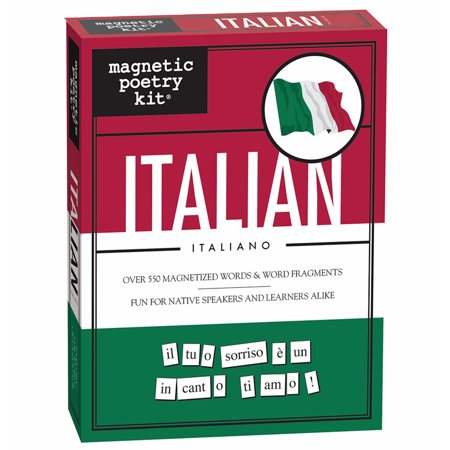 Refrigerator magnetic poetry language kit italian for Italian kit