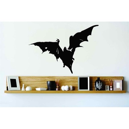 Do It Yourself Wall Decal Sticker Gothic Bat Flying Vampire Spooky Home Halloween Party Decoration Kids Boy 20x20](Easy Do It Yourself Scary Halloween Decorations)
