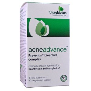 Futurebiotics Acneadvance Praventin Bioactive Complex Vegetarian Tablets, 90 Ea