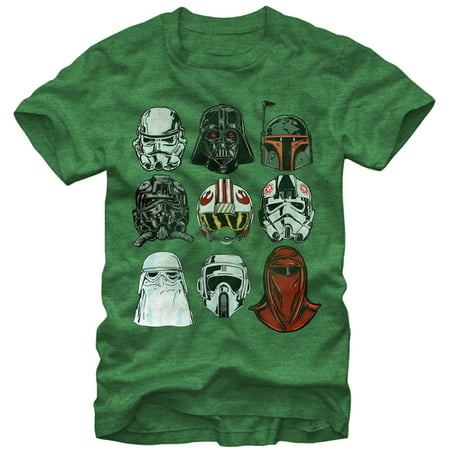 Star Wars Always Helmets Mens' T-Shirt - FREE SHIPPING