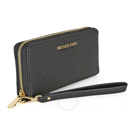 933fbca843af7f Michael Kors Saffiano Leather Large Multifunction Zip Around Wallet/Case  for for iPhone 6 Plus, 7 Plus, 8 Plus, iPhone X, S7 Edge.