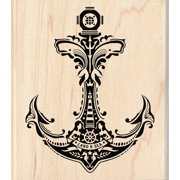 "Inkadinkado Mounted Rubber Stamp, 3.5"" x 4"", Mindscape Anchor"