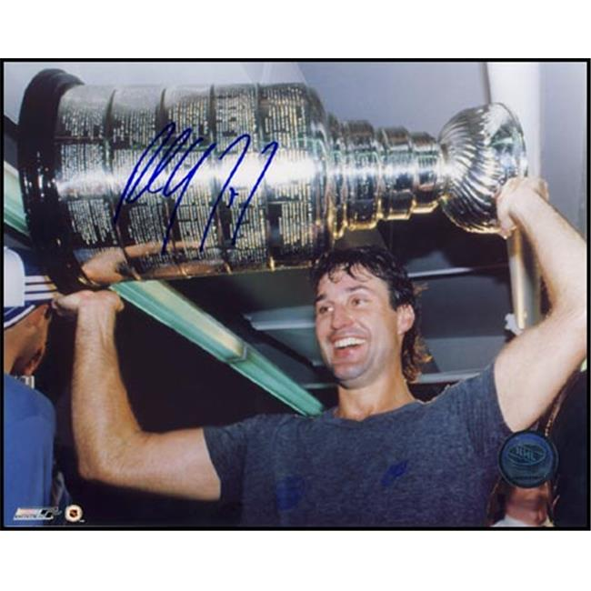 AJ Sports World COFP124022 PAUL COFFEY Edmonton Oilers SIGNED 8x10 Photo Stanley Cup Photo