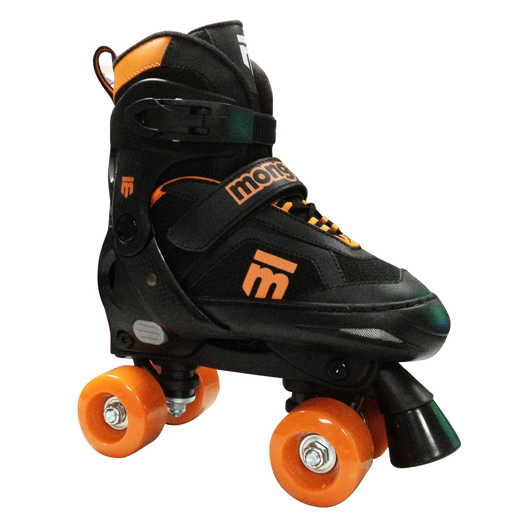 Mongoose MG-098B-S Boys Size Small Comfortable Quad Rollerblade Skates, Black