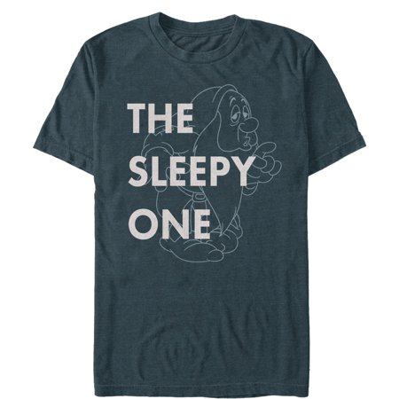 Snow White and the Seven Dwarves Men's Sleepy One T-Shirt 7 For All Mankind Shirts