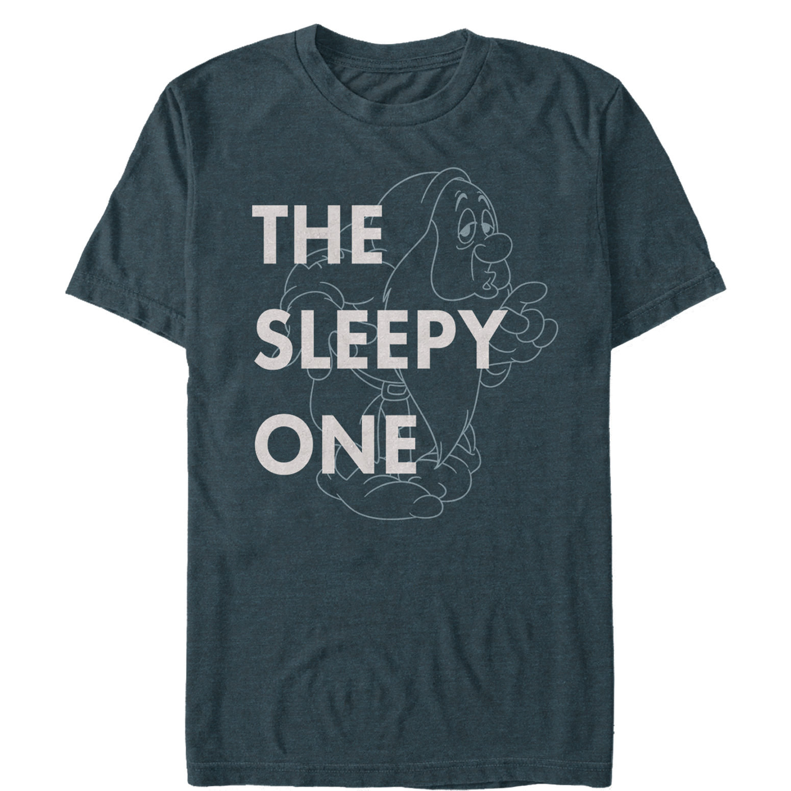 Snow White and the Seven Dwarves Men's Sleepy One T-Shirt
