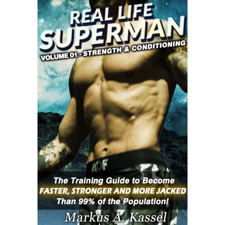 Superman Life Size Cut Out (Real Life Superman: the Training Guide to Become Faster, Stronger and More Jacked than 99% of the Population: Volume 01: Strength & Conditioning -)