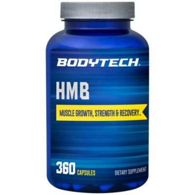 BodyTech HMB 1000 MG  Muscle Growth, Strength,  Recovery; Promotes Protein Synthesis, 90 Servings (360