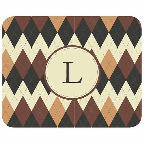 Personalized Argyle Mouse Pad