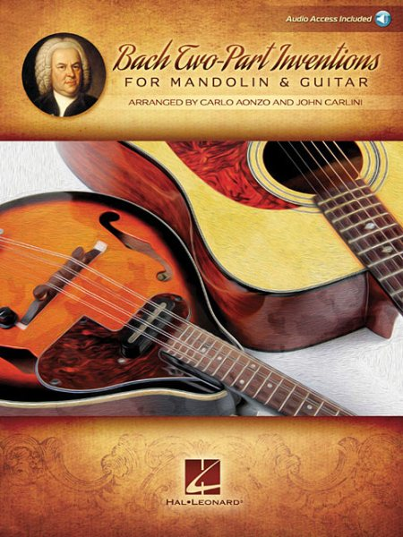 Bach Two-Part Inventions for Mandolin & Guitar by
