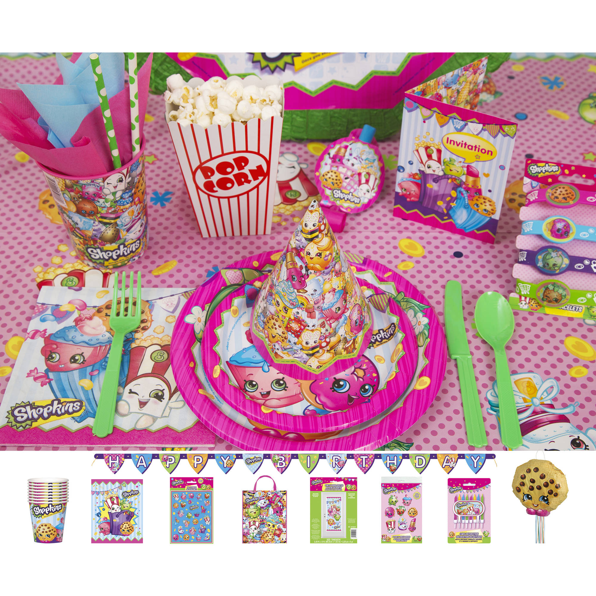Shopkins Party Supplies