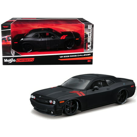 2008 Dodge Challenger Matt Black