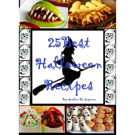 25 Best Halloween Recipes - eBook - Preschool Halloween Recipes