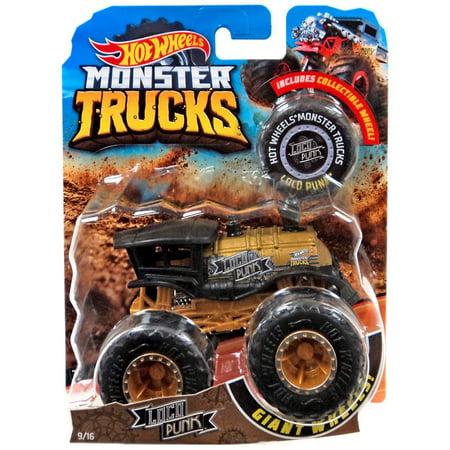 Hot Wheels Monster Trucks Loco Punk Die-Cast Car (Die Cast Monster Trucks)