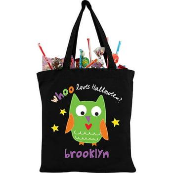 Sandra Magsamen Personalized Large Trick-or-Treat Bag