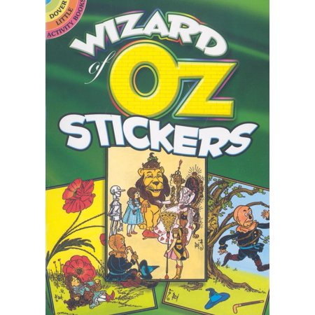 Little Children Shape Stickers (Dover Little Activity Books: Wizard of Oz Stickers (Paperback) )