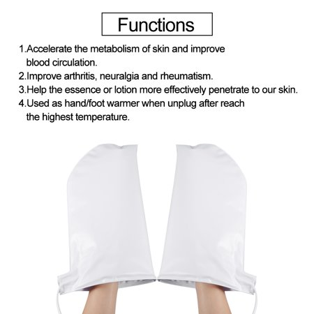 - TOPINCN Therapeutic Heated Mitts for Paraffin Wax Therapy Manicure SPA Treatment Hand Care Mittens