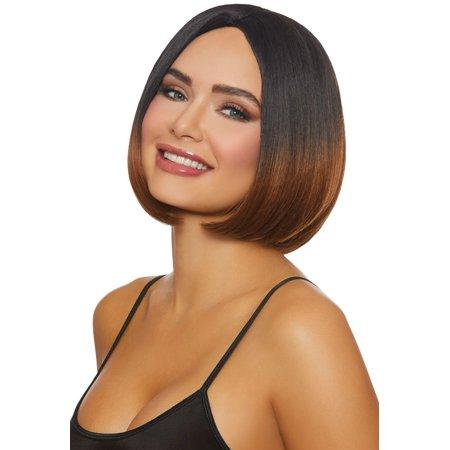 Brunette Caramel Ombre Wig Adult Halloween - Good Halloween Ideas For Brunettes