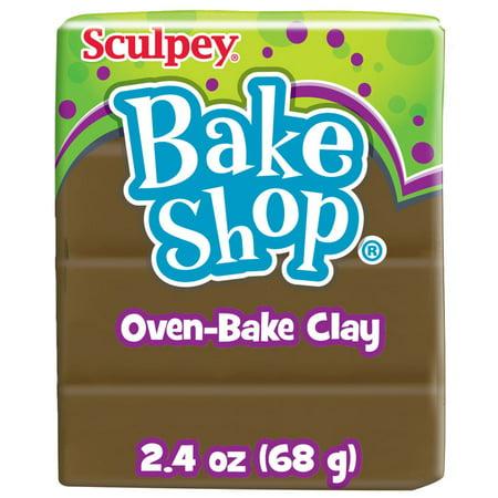 Sculpey Bake Shop 2.4 Oz. Brown Oven-Bake Clay
