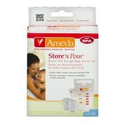Ameda Store 'N Pour Breast Milk Storage Bags Starter Kit, 1.0 KIT