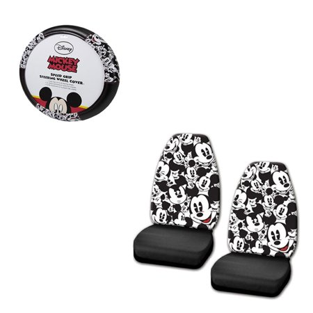 Mickey MouseMickey Mouse 2 Seat Covers And Wheel Cover