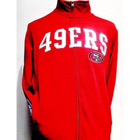 Licensed Sports Apparel - San Francisco Football Forty-Niners Full-zip Poly  Fleece Red Jacket - Walmart.com 1d7ea6c08