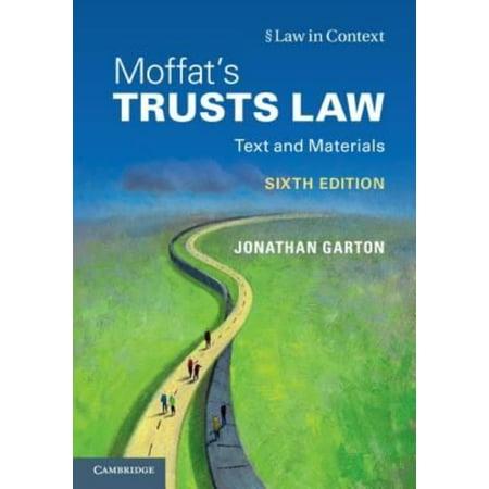 Moffats Trusts Law  Text And Materials