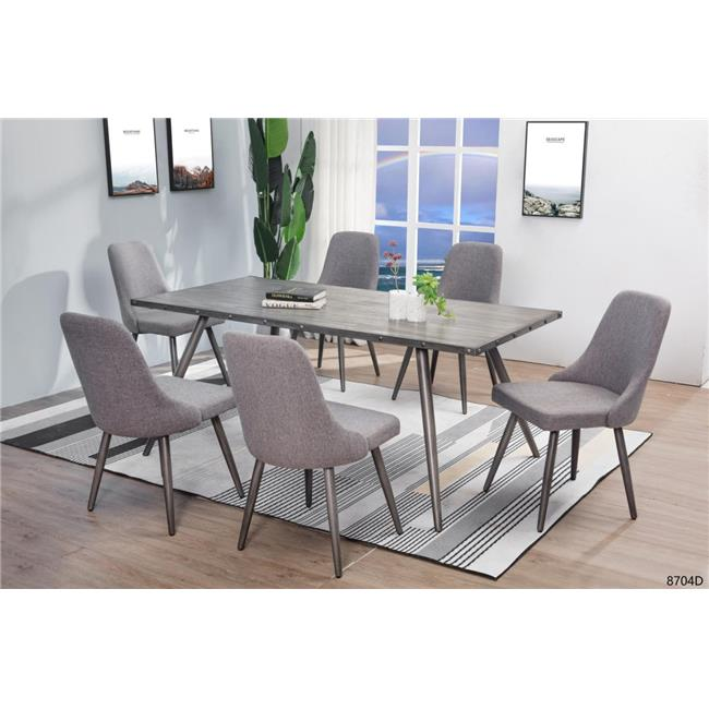 Myco Furniture Rm200 T 36 X 72 X 30 In Ramsey Dining Table 44 Gray Walmart Canada