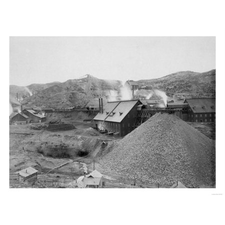 View of Mining Factory Homestake Works