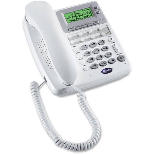 AT&T Corded Telephone With Caller ID, Call Waiting And Speakerphone