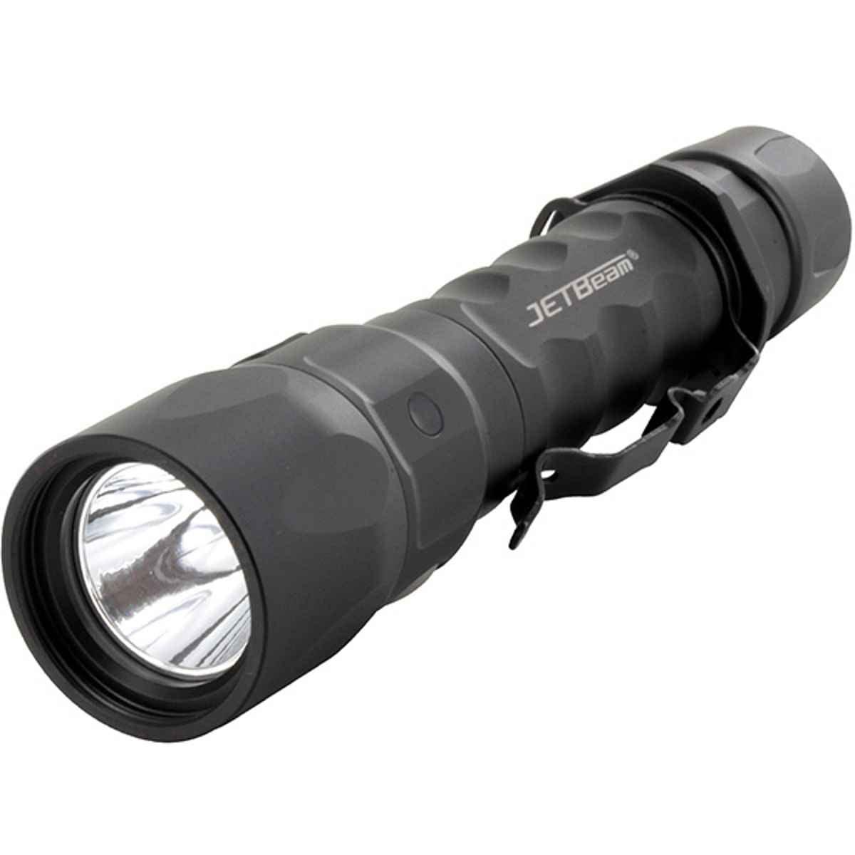 Jetbeam Jet-IM Rechargeable Flashlight Black - JBJET-IM